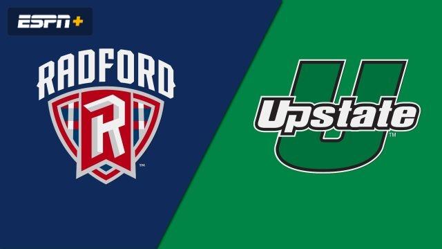 Radford vs. USC Upstate (W Basketball)