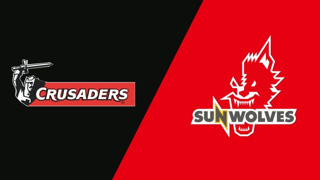 Crusaders vs. Sunwolves (Super Rugby)