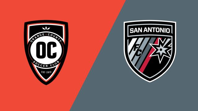 Orange County SC vs. San Antonio FC
