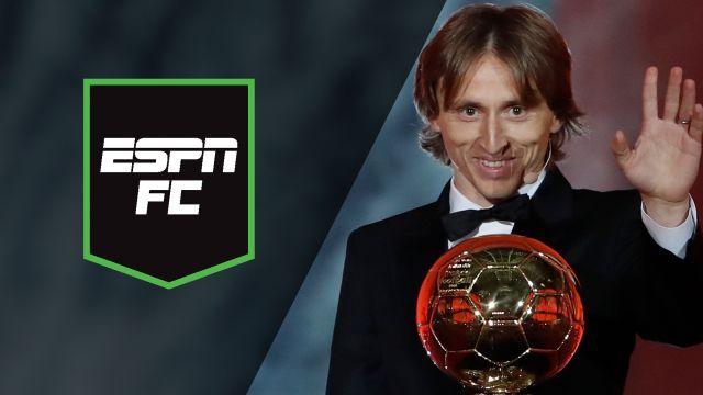 Mon, 12/3 - ESPN FC: Modric Wins Ballon d'Or