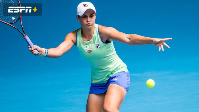 (1) Barty vs. (29) Rybakina (Women's Third Round)