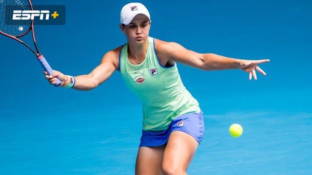 (1) Barty vs. (29) Rybakina (Women's Third Round)