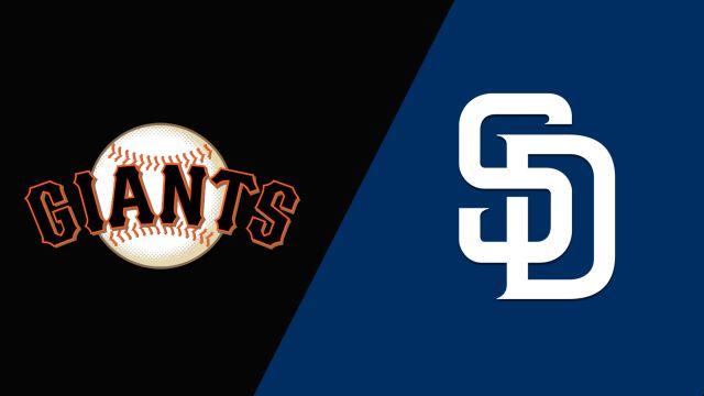 San Francisco Giants vs. San Diego Padres