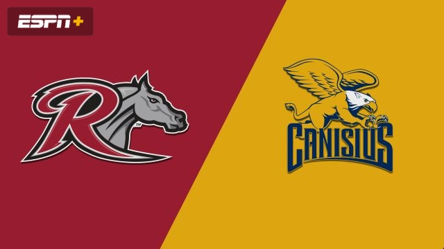 Rider vs. Canisius (M Basketball)