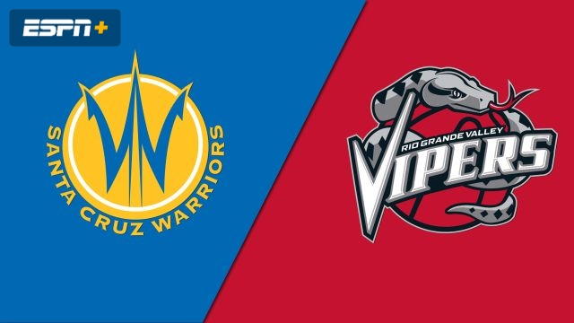 Santa Cruz Warriors vs. Rio Grande Valley Vipers