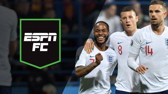 Mon, 3/25 - ESPN FC: England's evolution
