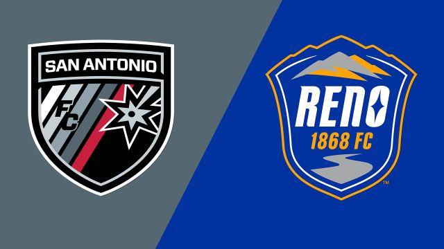 San Antonio FC vs. Reno 1868 FC