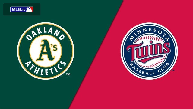 Oakland Athletics vs. Minnesota Twins