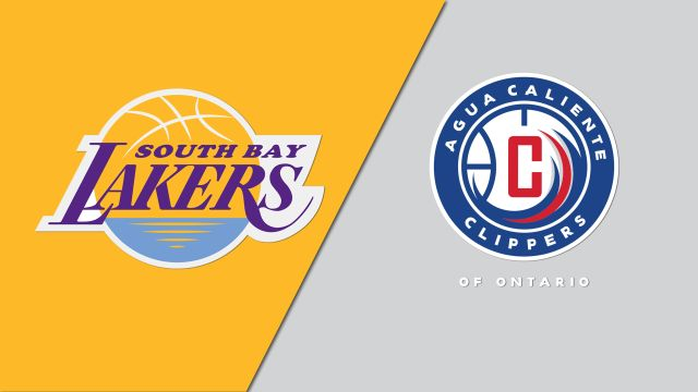 South Bay Lakers vs. Agua Caliente Clippers