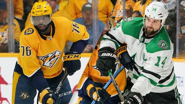 In Canadian French-Nashville Predators vs. Dallas Stars