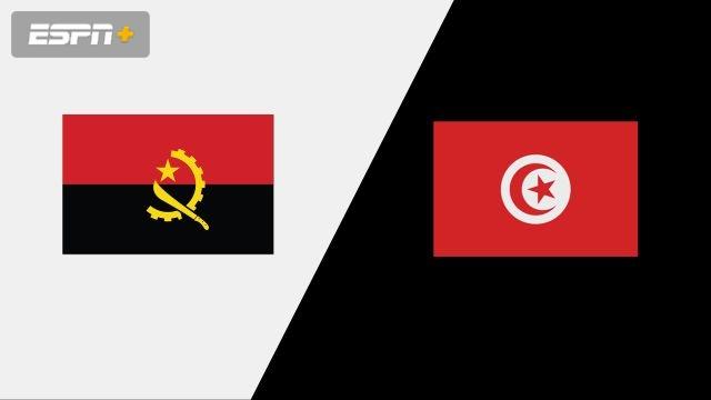 Angola vs. Tunisia (Group Phase)