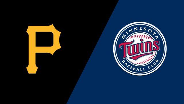 Pittsburgh Pirates vs. Minnesota Twins