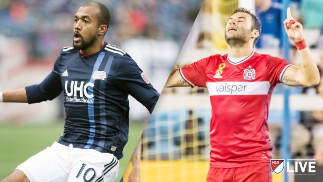 New England Revolution vs. Chicago Fire