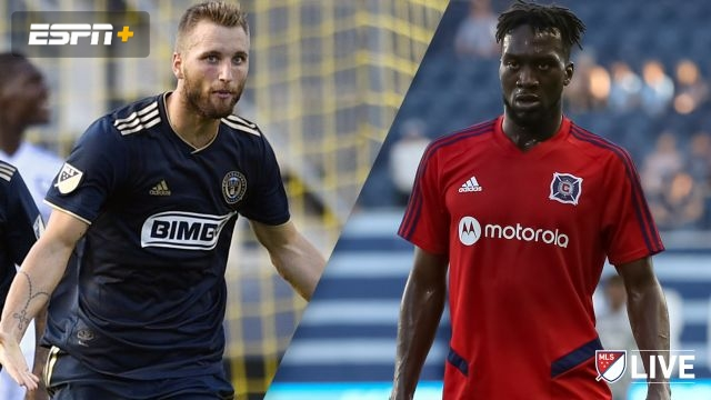 In Spanish-Chicago Fire vs. Philadelphia Union (MLS)