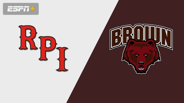 Rensselaer vs. Brown (M Hockey)