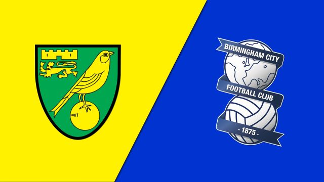 Norwich City vs. Birmingham City (English League Championship)