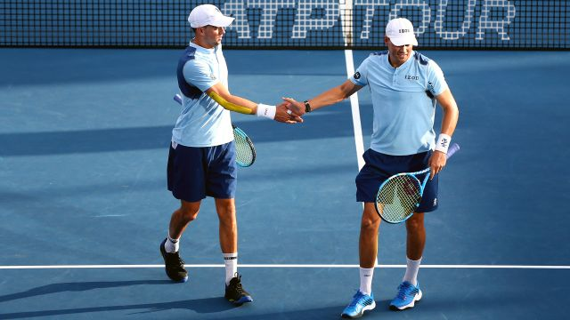 (4) B. Bryan/M. Bryan vs. (5) Herbert/Mahut (Men's Doubles Quarterfinals)