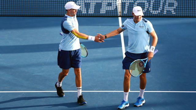 (4) B. Bryan/M. Bryan vs. (5) Herbert/Mahut (Men's Doubles Quarterfinals)