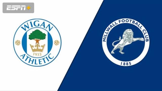 Wigan Athletic vs. Millwall (English League Championship)