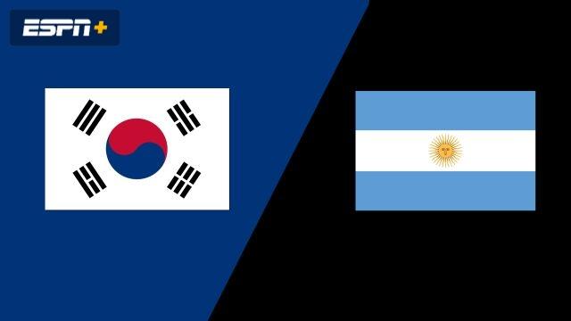 Korea vs. Argentina (Group Phase)