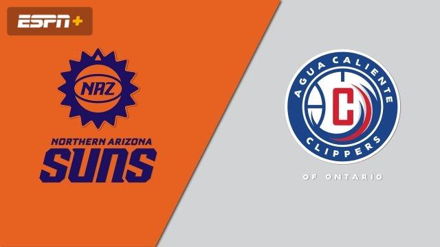 Northern Arizona Suns vs. Agua Caliente Clippers