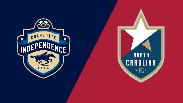 Charlotte Independence vs. North Carolina FC (United Soccer League)