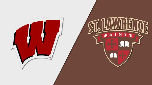 #13 Wisconsin vs. St. Lawrence (M Hockey)
