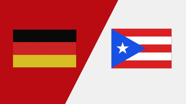Germany vs. Puerto Rico (2018 FIL World Lacrosse Championships)