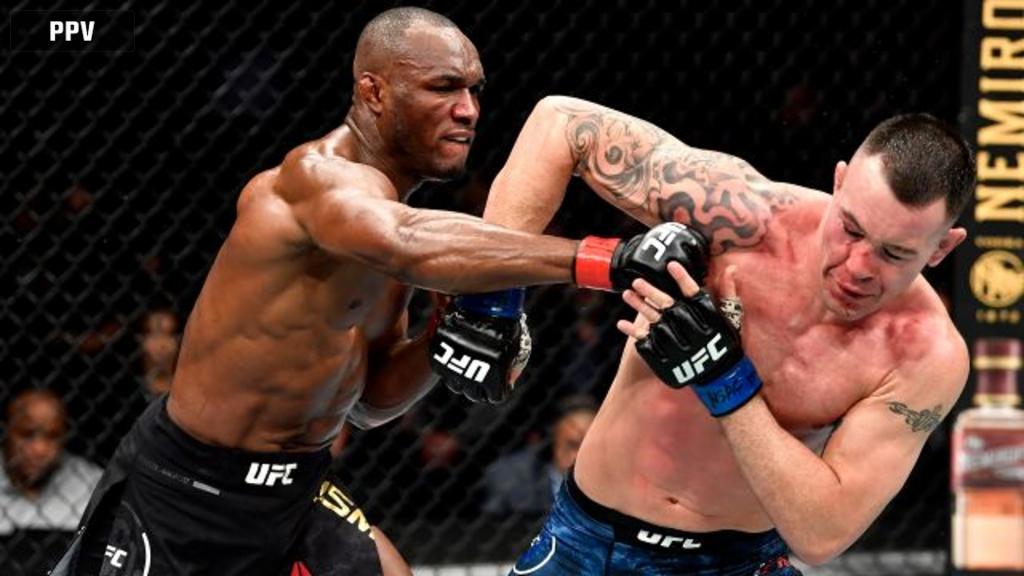 Kamaru Usman vs. Colby Covington (UFC 245)