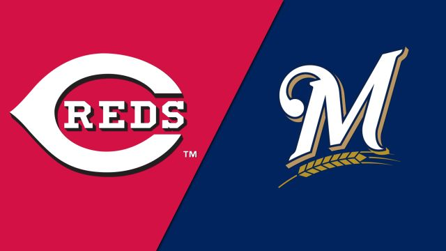Cincinnati Reds vs. Milwaukee Brewers
