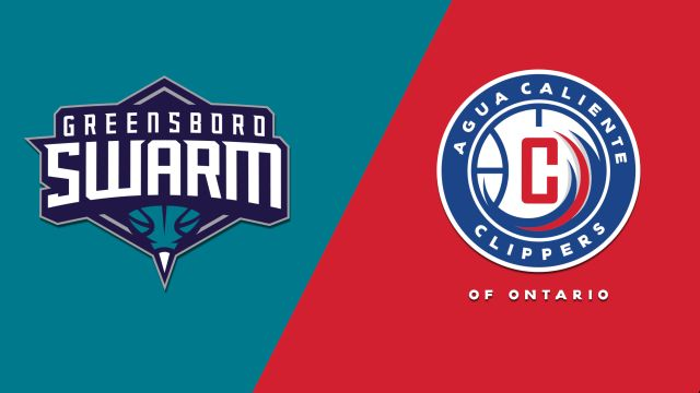 Greensboro Swarm vs. Agua Caliente Clippers