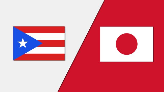 Puerto Rico vs. Japan (Group Phase)