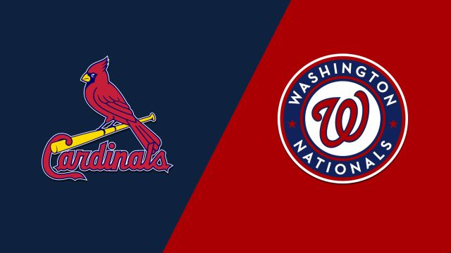 St. Louis Cardinals vs. Washington Nationals