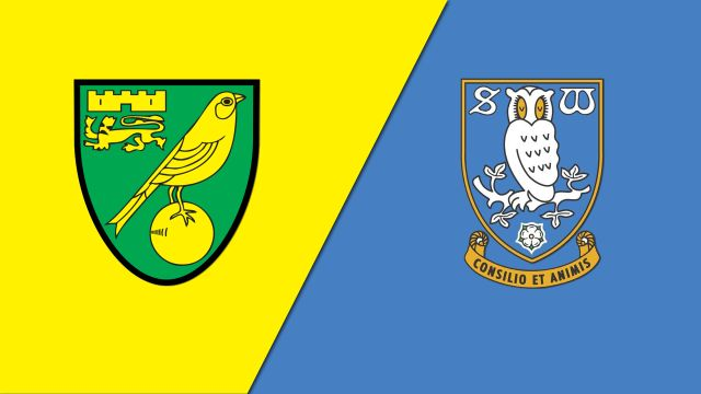 Norwich City vs. Sheffield Wednesday (English League Championship)