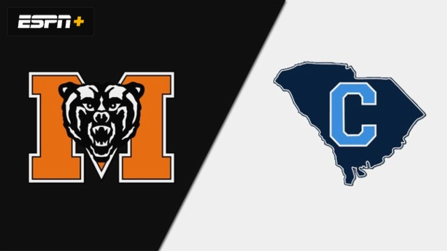Mercer vs. The Citadel (M Basketball)