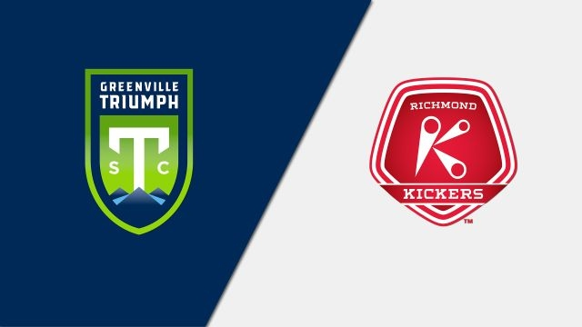 Greenville Triumph SC vs. Richmond Kickers (USL League One)