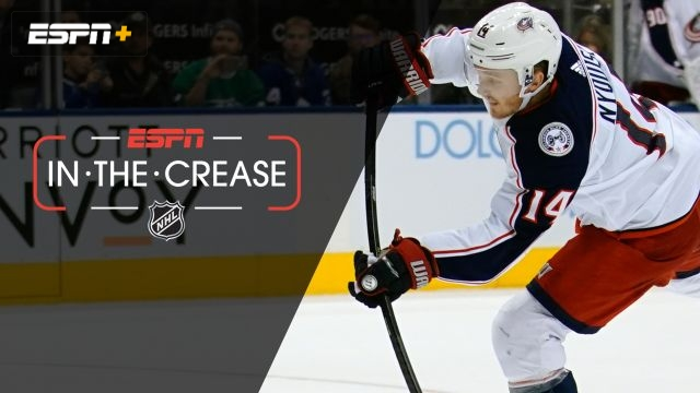 Tue, 10/22 - In the Crease: Nyquist makes Blue Jackets history
