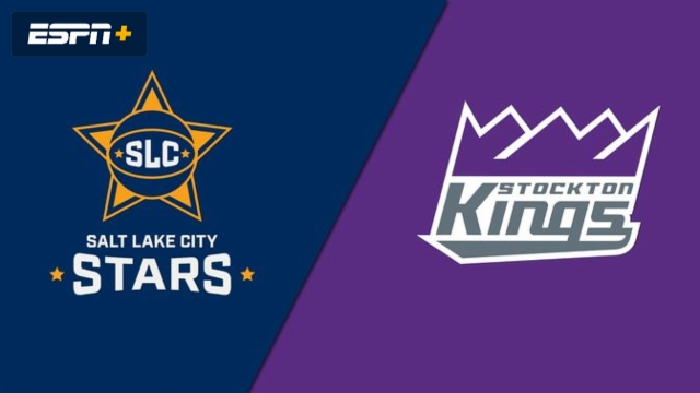 Salt Lake City Stars vs. Stockton Kings