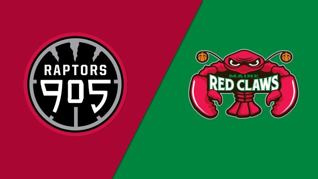 Raptors 905 vs. Maine Red Claws