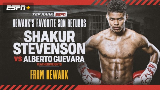 Stevenson vs. Guevara Main Event