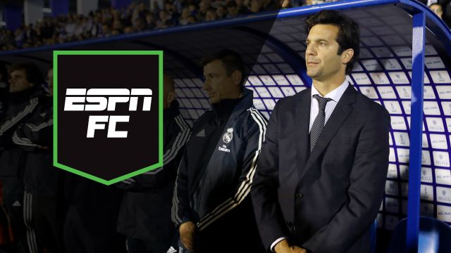 Wed, 10/31 - ESPN FC: Solari steps in
