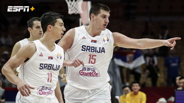 Serbia vs. Argentina (Quarterfinal #1)