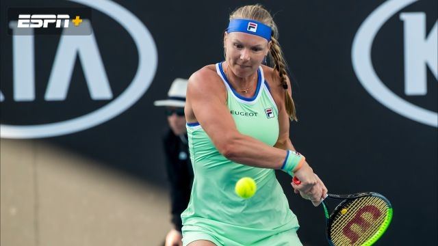 (9) Bertens vs. Rodionova (Women's Second Round)