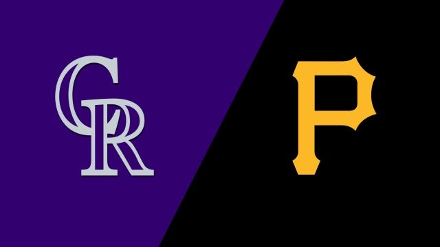 Colorado Rockies vs. Pittsburgh Pirates