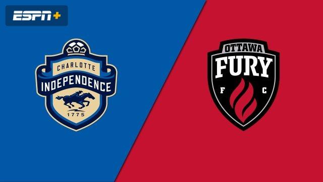 Charlotte Independence vs. Ottawa Fury FC (USL Championship)