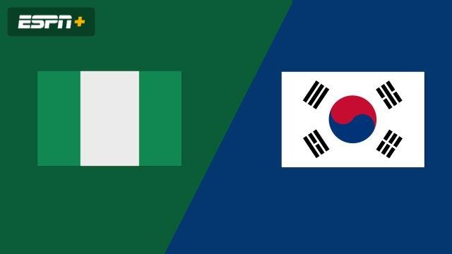 Nigéria vs. Korea (Group Phase)
