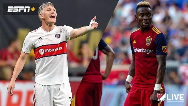 In Spanish-Real Salt Lake vs. Chicago Fire (MLS)