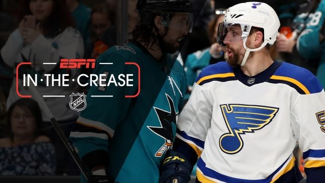 Tues, 5/14 - In the Crease: Blues look to even series against Sharks