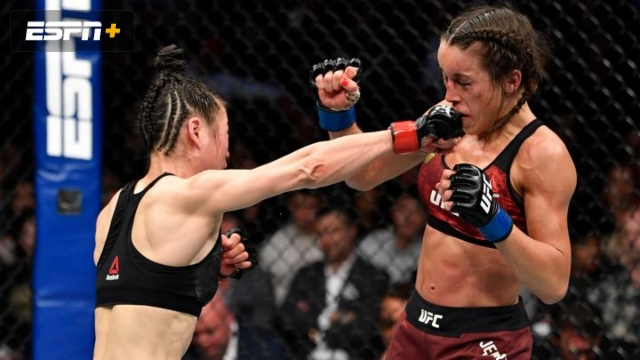UFC Main Event: Zhang vs. Joanna