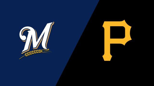 Milwaukee Brewers vs. Pittsburgh Pirates